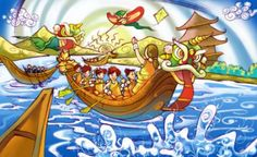 chinese dragon boat poem - Google Search