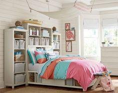 Teenage Girl Bedroom Ideas | Cozy Seaside Cottage | PBteen