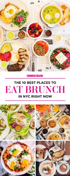 10 BEST BRUNCHES IN NYC: Pin this now and use it to find ~yummy~ places to eat while you visit the city for #FunFearlessLife in November! We rounded up the best brunch places and listed the vibe, the type of food they have, and everything else you need to know about these delish options. Find all the details here!