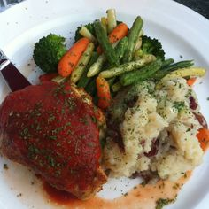 Stuffed chicken from The Foxes Den in Toronto