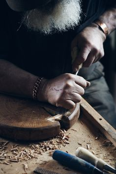 This is actually a documentary about this craftsman who doesn't think he's really a craftsman. Must watch w C.