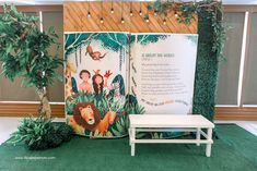 """Julia's """"My Great Big God"""" Inspired Party – Photowall Sleeping Tiger, Pink Table, Party Themes, Party Ideas, Event Styling, 1st Birthday Parties, Wonderful Time, Eat Cake, First Birthdays"""