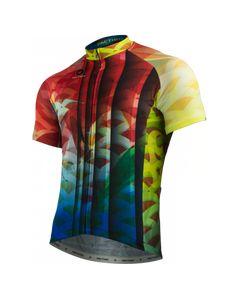 Koi Jersey by Arlene Pedersen Men's   Artist-Inspired Cycling Apparel   Pactimo