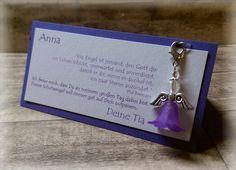 Gastgeschenk Tischkarte Kommunion Konfirmation von CARD-YA Kreatives aus Papier auf DaWanda.com