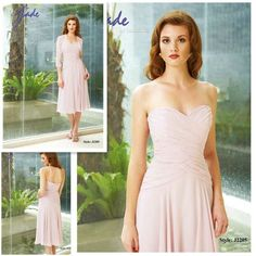 Latest Hot sell Chiffon A line Tea length Vintage Mother Dress mother of bride dress  MLF-022 $115.79