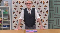 Design Studio with Thomas Knauer - 'Rotating Blocks, Part 1' - Many quilting patterns allow a quilter to rotate the blocks in order to come up with different design schemes and visual patterns.