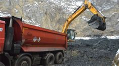 The waste and contaminated soil is being moved to safe storage, unable to be recycled due to its uniquely toxic nature.