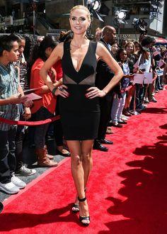 a69673edd7b Heidi Klum –  America s Got Talent  Season 10 Red Carpet Event in Hollywood  Givenchy