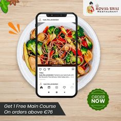 The only thing between your favourite meal is a single tap. Go for a speedy and flavourful home delivery. . . . . . #SafetyFirst #OnlineOrder #FreeDelivery #Thai #ThaiFoods #ThaiDishes #Cuisines #FoodPorn #Foodie #ThaiCuisine #Restaurant #Yummy #Delicious #ThaiFoodLover #FoodLovers #FoodBlogger #SeaFood #ThaiRestaurant #RoyalThai #HygienicEnvironment Best Thai Restaurant, Authentic Thai Food, Thai Dishes, Thai Recipes, Amsterdam, Seafood, Food Porn, Delivery, Favorite Recipes