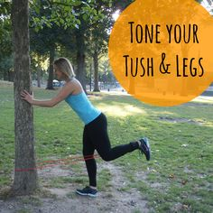 Happy Hump Day!! Another Hump Day, another day to work the BOOTY and legs! We have a brand new workout for you today using those resistance bands again!! We love using bands for workouts on t...