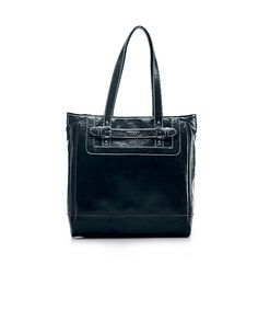 Nine & Co.: Straight Ahead Tote Bag (available in brown and black)