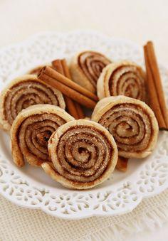 3 Ingredient Cinnamon Sugar Pie Crust Cookies