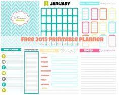 Free Printable 2015 Planner