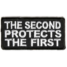 3.5 inch - Iron on Sew on -ZL8 in God We Trust 2nd Amendment Patch