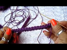 con asa de correa el/ástica tejida a mano Phoetya Bolsa de almacenamiento de lana bolsillo de ganchillo