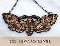 Tell a Tale Metamorphosis... Illustrated Jewelry by Monica Knighton — Kickstarter