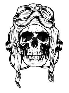 Skull sketch by Art-of-BRAINSPILL on deviantART