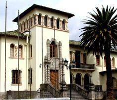 Palacete Mena Caamaño, La Mariscal. Quito, Ecuador.