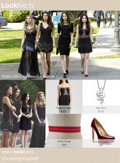 PLL fashion, Aria Montgomery, Shop The Look