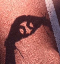 baseball shadow art omg soo very cool