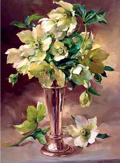 Mill House Fine Art – Publishers of Anne Cotterill Flower Art Art Floral, Flower Vases, Flower Art, Mosaic Flowers, Painting & Drawing, Watercolor Paintings, Flower Paintings, Oil Paintings, Images D'art