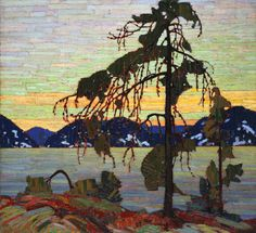 "Tom Thomson, ""The Jack Pine"", oil oncanvas, 127.9 x 139.8 cm, 1916-1917"