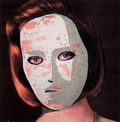 Eyes Without a Face, 1990 - by Luc Tuymans (1958), Belgian