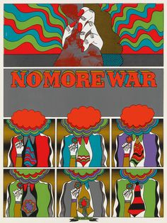 No More War - Keiichi Tanaami