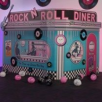 Rock around the clock with Fifties Party Props from Shindigz. Theme Party Props include theme kits and more! Order your party props today! 50s Theme Parties, Party Themes, Party Ideas, 50s Party Decorations, Christmas Decorations, Fifties Party, 1950s Party, Retro Party, Diner Party
