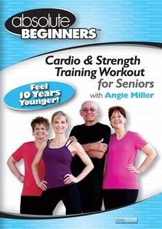 The #Absolute #Beginners #Cardio and #Strength #Training #Workout for #Seniors #DVD is designed specifically for #mature #adults with safe, simple and effective #exercises that are performed in a #relaxing and #educational pace... #health #fitness #fit #fitnessaddict #fitspo #workout #cardio #gym #train #training #photooftheday #health #healthy #angiemiller #healthychoices #active #strong #motivation #instagood #determination #lifestyle #diet #getfit #eatclean #exercise #fitnessfly…