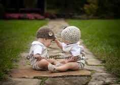 Twins. So need t do this. wouldnt be hard, they love to pester each other.