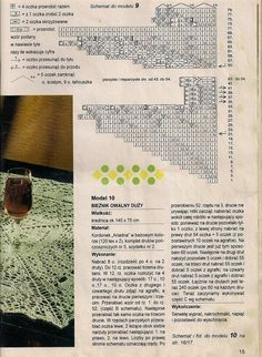 "Photo from album ""Igla i Nitka on Yandex. Lace Knitting, Knit Crochet, Views Album, Yandex Disk, Doilies, Lace Tablecloths, Towels, Yarns, Tejidos"