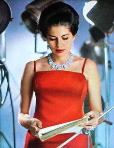 Princess Soraya (Esfandiary-Bakhtiari) of Iran, photo Sam Levin, Paris Match February 1964