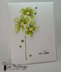 Love green flowers!