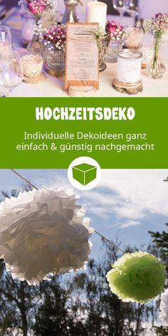 DIY Hochzeitsdeko: So einfach