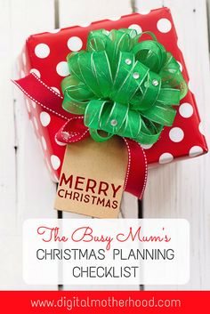 If you& busy with work and family life you might find my busy mum& Christmas planning checklist useful to make sure you get everything done. Christmas Checklist, Christmas Planning, Christmas Decorations For Kids, Christmas Fun, Mistletoe And Wine, Sensory Activities Toddlers, Parenting Plan, Parenting Blogs, Parenting Toddlers