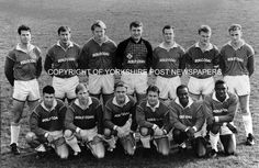 Garforth Town. By Steve Riding - Oct 1993. To order visit:  http://yorkshirepost.newsprints.co.uk/search/scu/p/u/185348/1/local%20soccer quote order number. garforth