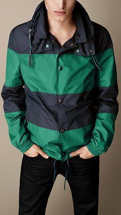 Burberry Brit Block Stripe Jacket