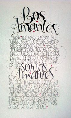 Lety Sordo Zabalegui, Extracto de texto Los Amantes de Julio Cortázar. Letras dibujadas con marcadores  |  © Todos los derechos reservados