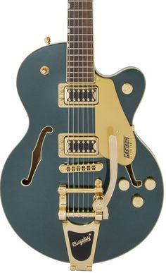 Gretsch G5655TG Electromatic Center Block Jr. Single-Cut with Bigsby in Cadillac Green