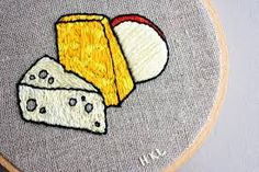 embroidery cheese - Google Search