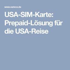 USA-SIM-Karte: Prepaid-Lösung für die USA-Reise