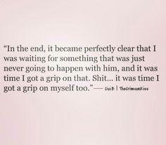 Get a grip girl