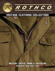 Rothco Vintage Clothing Catalog