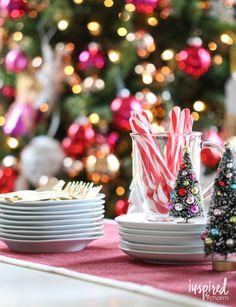 Holiday Centerpiece Ideas | inspiredbycharm.com