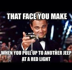 That face you make when you pull up to another Jeep at a red light #teraflex