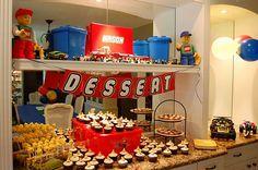 lego birthday: desserts