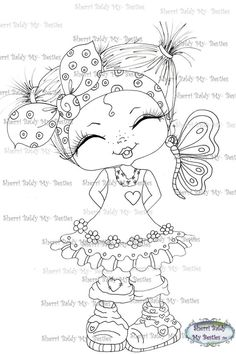 Big Eyes Artist, Line Art Images, Gothic Culture, Creation Art, Black And White Lines, Butterfly Kisses, Coloring Book Pages, Fancy Pants, Copics