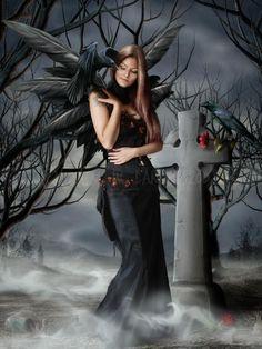 Goth Gothic fairy faery fantasy