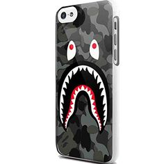 Bape Shark Black Army Pattern for Iphone and Samsung Galaxy Case (iPhone 5C white) Bape Shark http://www.amazon.com/dp/B013Z489ZK/ref=cm_sw_r_pi_dp_QM-7wb1YW2RZZ